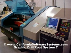Excellon Mark VI Drilling and Routing Machines Graphics Software